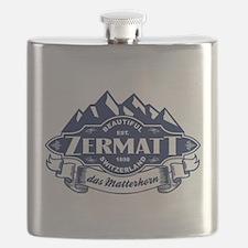 Zermatt Mountain Emblem Flask