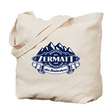 Zermatt Mountain Emblem Tote Bag