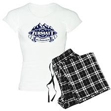 Zermatt Mountain Emblem Pajamas