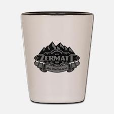 Zermatt Mountain Emblem Shot Glass