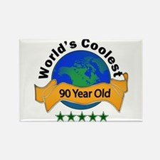 Cute 90th birthday Rectangle Magnet