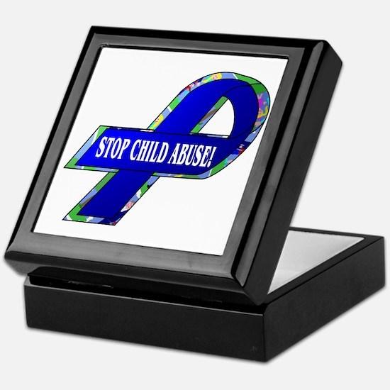 Child Abuse Awareness Keepsake Box