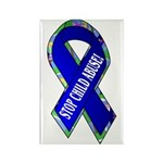 Child Abuse Awareness Rectangle Magnet (100 pack)
