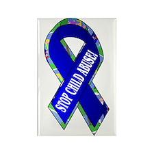 Child Abuse Awareness Rectangle Magnet