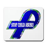Child Abuse Awareness Mousepad