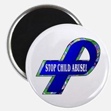 Child Abuse Awareness Magnet
