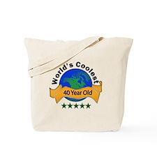 Funny 40th birthday fart Tote Bag