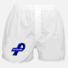 Child Abuse Awareness Boxer Shorts
