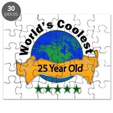Cute 25 years old Puzzle