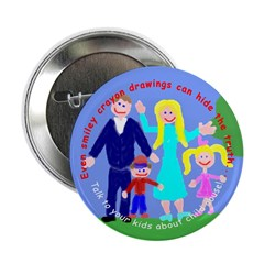 Abuse Awareness Button
