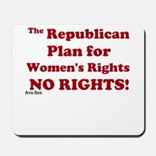 Womens Rights Mousepad