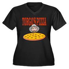 Classic Torgo's Pizza Women's Plus Size V-