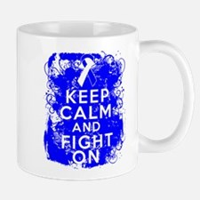 ALS Keep Calm Fight On Mug