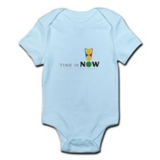 Time Is Now Logo Infant Bodysuit