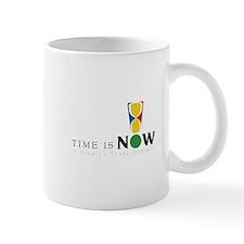 Time Is Now Logo Mug