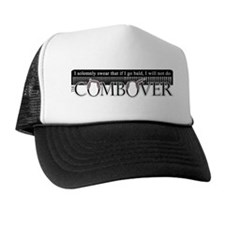 Combover Pledge - Trucker Hat Black