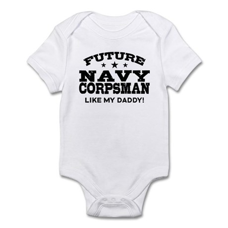 Future Navy Corpsman Infant Bodysuit