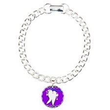 tooth blanket 5 purple.PNG Charm Bracelet, One Cha