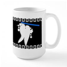 Tooth blanket 1 black.PNG Mug