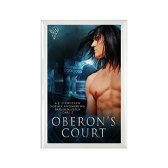 Oberons Court Rectangle Magnet