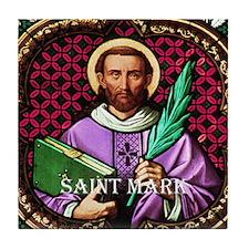 St Mark Tile Coaster