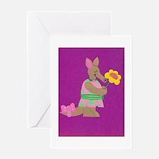 Aardvark Frield Greeting Card