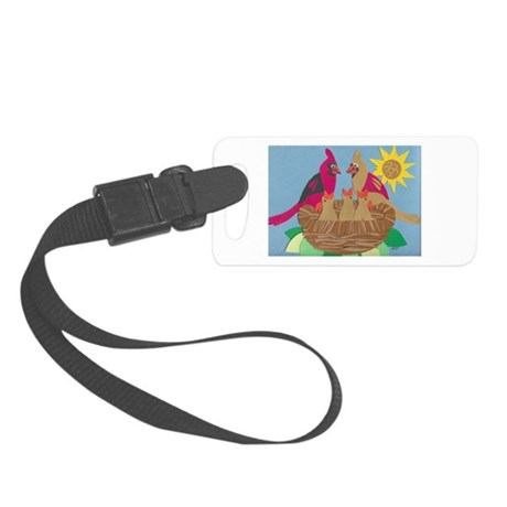 Cardinal Family Small Luggage Tag