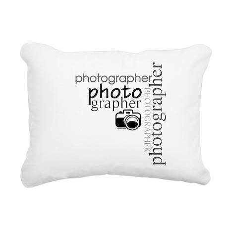 photographer1.png Rectangular Canvas Pillow