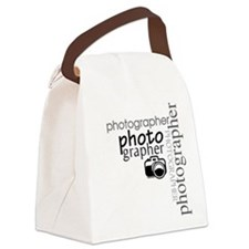 photographer1.png Canvas Lunch Bag
