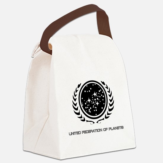 Federation_logo_title.png Canvas Lunch Bag