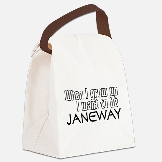 GrownUp-JANEWAY.png Canvas Lunch Bag