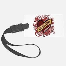 EDWARD-flourishes1.png Luggage Tag