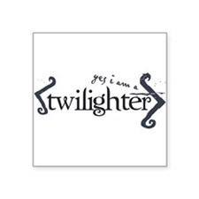 """twilighter.png Square Sticker 3"""" x 3"""""""
