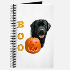 Halloween Black Lab Boo Journal