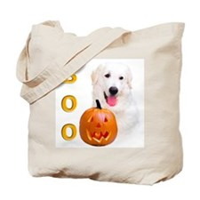 Halloween Kuvasz Boo Tote Bag