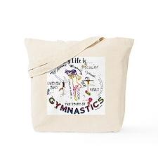 The Story of Gymnastics Tote Bag