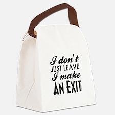 Exit Canvas Lunch Bag