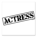 actress.png Square Car Magnet 3
