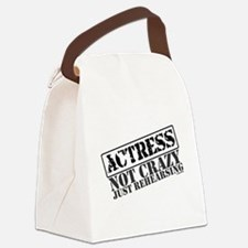 actress.png Canvas Lunch Bag