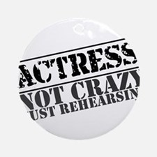 actress.png Ornament (Round)