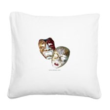 t-shirt-white-sally9.png Square Canvas Pillow