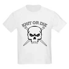 Knit or Die Kids T-Shirt