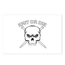 Knit or Die Postcards (Package of 8)