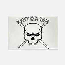 Knit or Die Rectangle Magnet (100 pack)