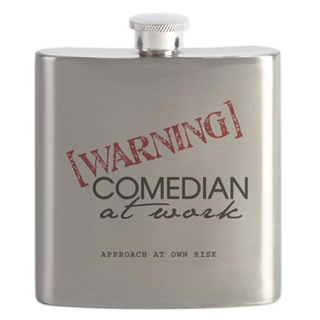 Warning: Comedian Flask