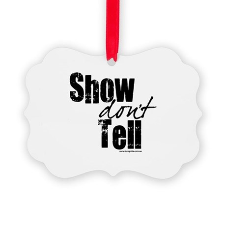 show-tell1.png Picture Ornament
