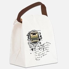 writer2.png Canvas Lunch Bag