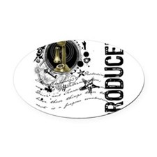 producer1.png Oval Car Magnet