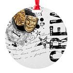 crew1-theatre.png Round Ornament