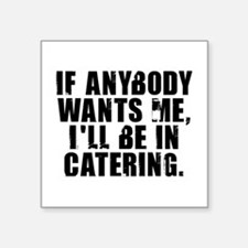"""Catering Square Sticker 3"""" x 3"""""""